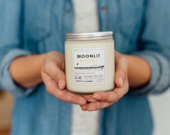 Moonlit Moors Literary Candle // Inspired by Wuthering Heights