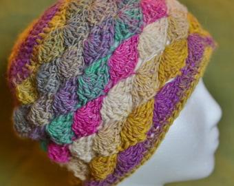 PATTERN ONLY: Crochet Billi Beanie