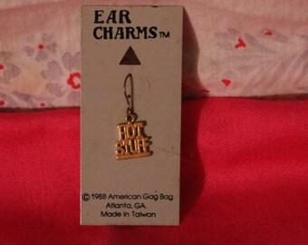 Vintage Hot Stuff Ear Charm