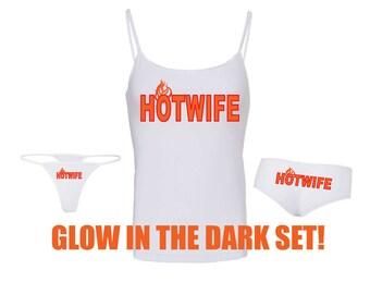 New!  Glow in the Dark HOTWIFE Bundle Pack - Buy & Save!