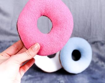 Donut handmade plush toy cuddly toy Dog toy