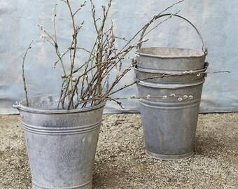Vintage Zinc Bucket