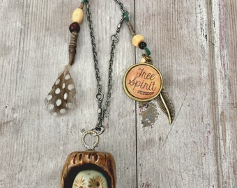 Bird of a Feather necklace