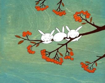 Rowan Tree - Signed Art Print