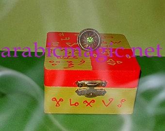 The talisman ring of the Jinn King Mudhib