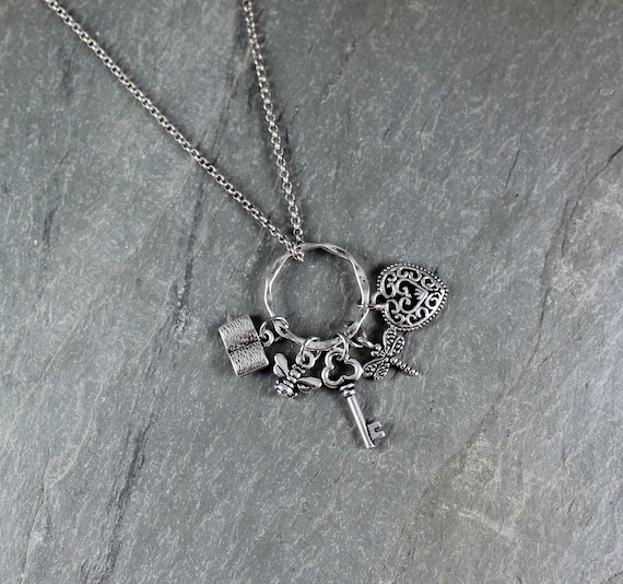Outlander inspired  ~ Charm Necklace
