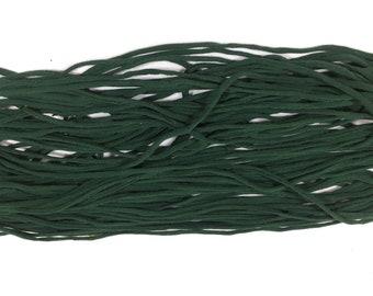 T-shirt Yarn, Dark Green  from Upcycled Cotton T-shirt