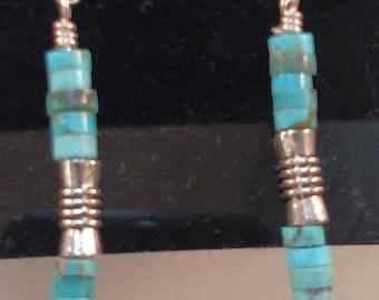 42-Turquoise Earrings