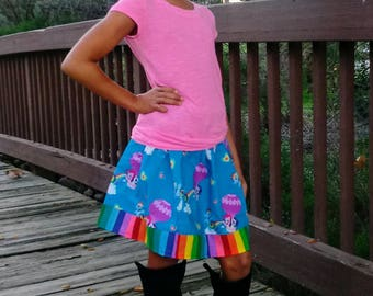 My Little Pony Hot Air Balloon Ride  skirt  (2T, 3T, 4T, 5, 6, 7, 8, 10)