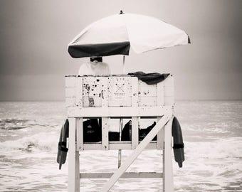 lifeguard chair, Avalon NJ 2016.