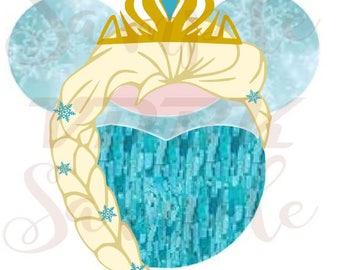 DIY Downloadable Disney Elsa Inspired Art for Shirt