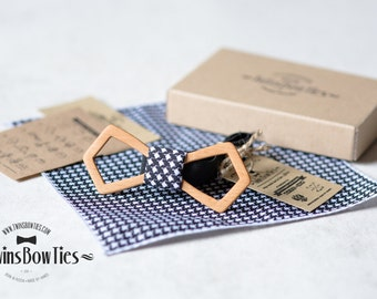 Wooden bow tie Konstantin + pocket square. Man wood bow tie. Men Accessories. 100% hand made. Best personal gift.