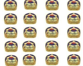 Mini Edible Liquor Images Crown Royal