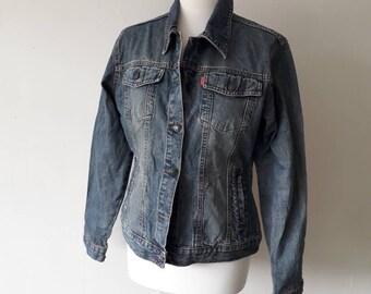 Vintage denim Jacket size 12-14 by mangoon