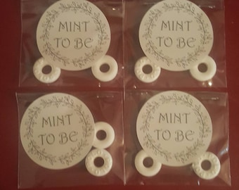 """Wedding favours """" Mint to be"""""""