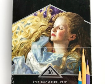 "Prismacolor Premier ""Verithin- Hard Thin Colored Pencils 36 ct. - 02428"
