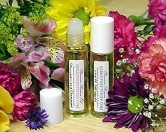 Pink Peony Perfume Oil - Vegan - Fragrance Scent Roll on Perfume  - Handmade Floral Scented Cologne - Paraben-free  - Peony Perfume Oil