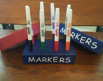 Expo Skinny Marker Holders (w/out markers)
