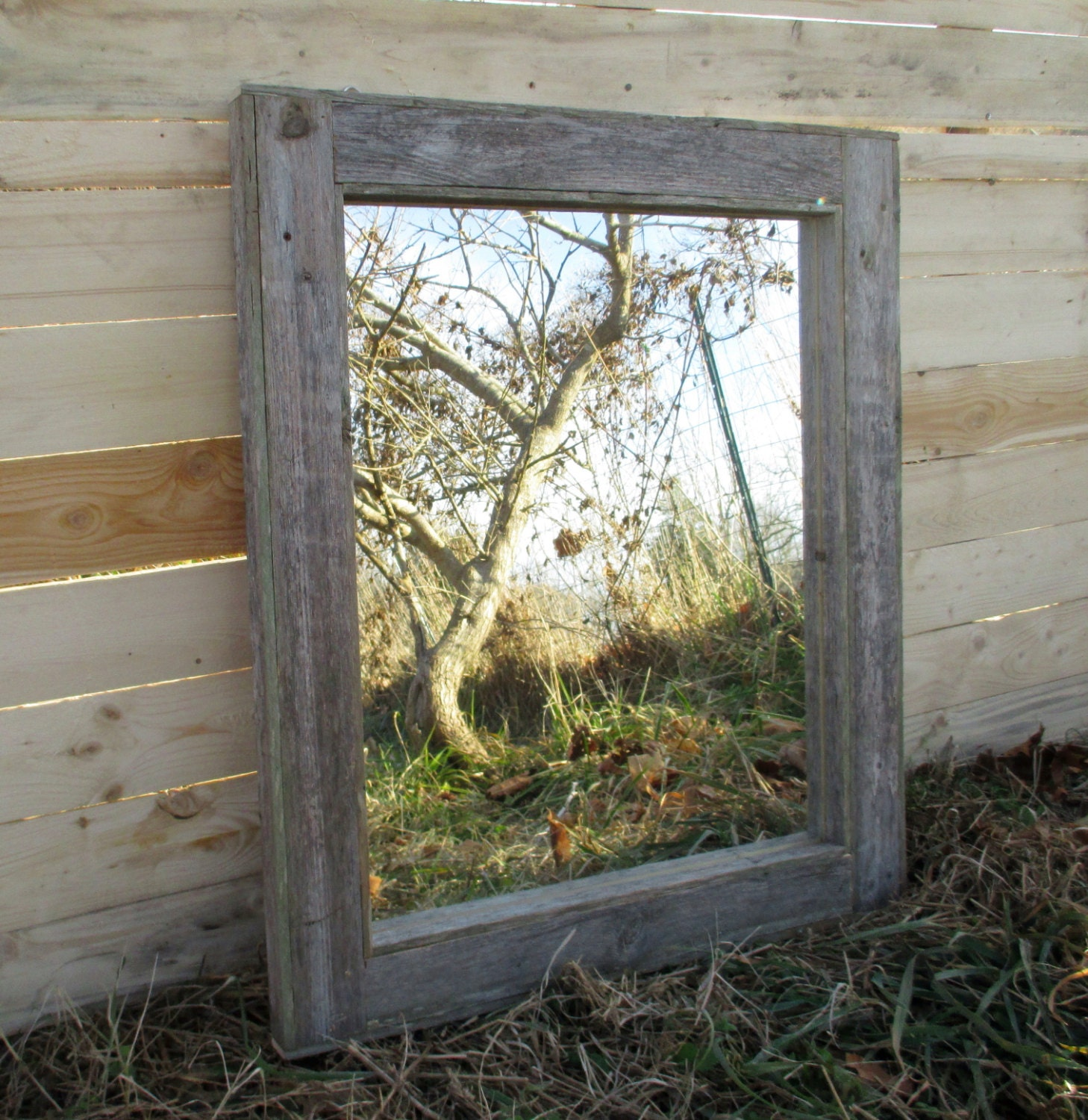 rustic bathroom mirrors reclaimed wood mirror rustic lodge decor bathroom mirrors 14288