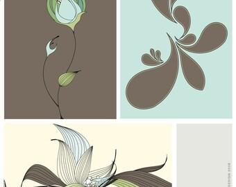 Pond Life - Set of 3 postcards
