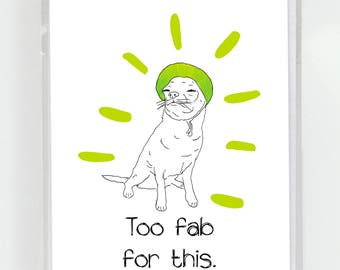 Chihuahua Too Fab For This Greeting Card