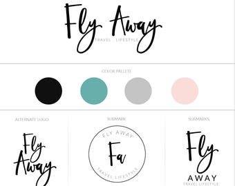 Branding Board | Branding Kit | Premade branding Kit | Mood Board | Branding | Brand | Business identity | Watermark | black logo