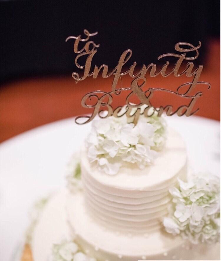 To Infinity And Beyond Disney Wedding To Infinity And Beyond Cake