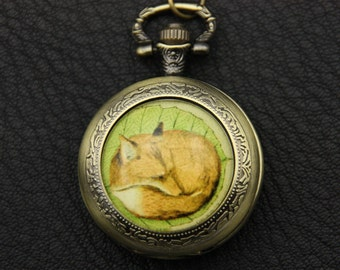 Fox Necklace, Fox Pocket watch