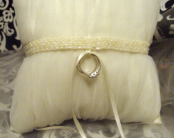 Morgan Ring Bearer Pillow - Ready To Ship