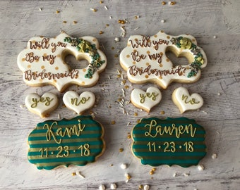 Will you be my... cookie set