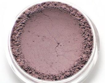 """Matte Purple Brown Eyeshadow - """"Fig"""" - Vegan Mineral Eyeshadow Net Wt 2g Natural Mineral Makeup Eye Color Pigment"""