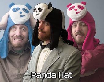 Fleece Giant Panda Hat