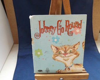 Rare Tell a Tale Book Johnny Go Round