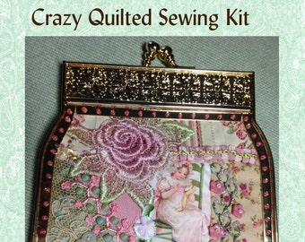 Crazy Quilt Digest 2 sewing purse