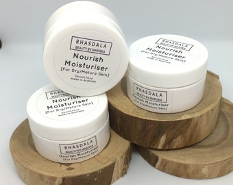 50ml Moisturiser - Nourish Moisturiser - For Dry/Mature Skin