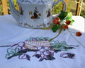 Early Ellgreave Wood & Sons Autumn Leaves Teapot; Vintage Ellgreave Teapot, Autumn Leaves, Gold Trim, Ellgreave England Teapot