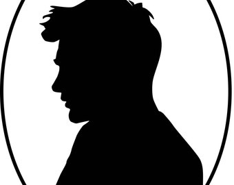 Custom Digital vector Silhouette
