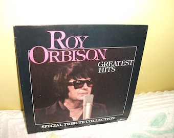 Roy Orbison Greatest Hits Special Tribute Collection Vinyl Record Album NEAR MINT - Double