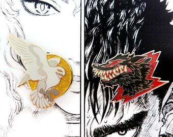 Causality Bundle - Both Hawk & Beast Pins