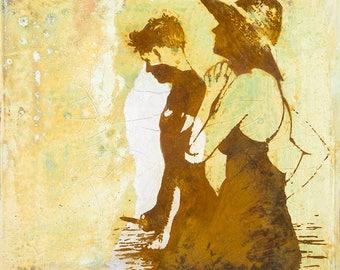 270 - Fine Art Print OR Original Painting, Giclee, Art