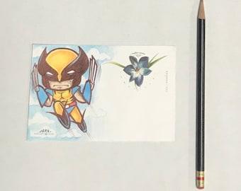 Wolverine Postcard CDC made