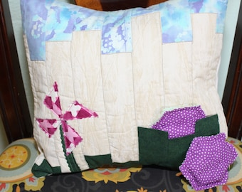 Herbal Pocket Pillow- Picket Fence
