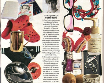 El Mundo Spanish Magazine published the fashion version of Kabbalah evil eye protection