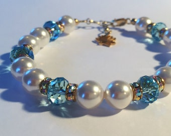 Awareness & Consciousness Sacred Energy Infused Swarovski Crystal Healing Bracelet by Crystal Vibrations Jewelry