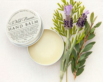 Hand Balm // Handmade with All Natural Ingredients // Palm Oil Free