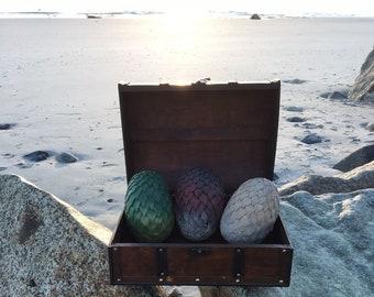 3 Game of Thrones inspired Dragon Eggs / Cosplay Costuming (Drogon, Rhaegal, Viserion)