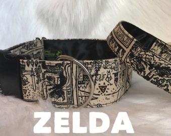 Zelda dog collar: dog collars, windwaker.
