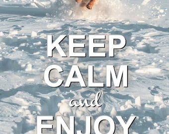 KEEP CALM and enjoy the moment. Postcards for Postcrossers.