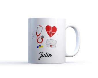 """Illustration """"Nurse nurse"""" MUG / Nadja love"""