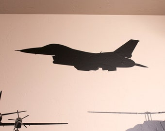F-16 Fighter Jet - Wall Decal